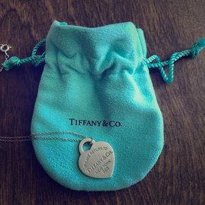 Return to Tiffany Heart Tag Pendant